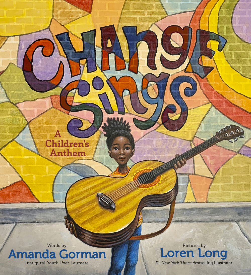 Change Sings  is brought to life by #1  New York Times  bestselling illustrator Loren Long, the artist behind Barack Obama's children's book  Of Thee I Sing: A Letter to My Daughters . Written as a children's anthem, Gorman's book reminds the newest generation that they have the power to shape the word with their voices.